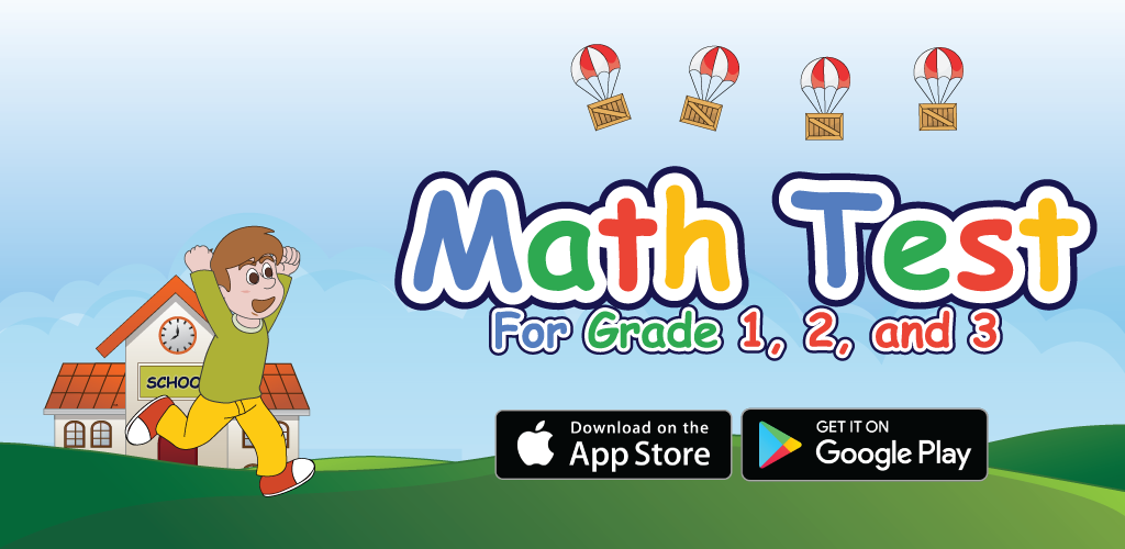Math Test for Grade 1, 2, and 3